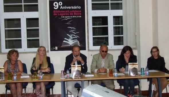 Folha do Centro - Biblioteca/Ludoteca de Lagares da Beira festejou 9.º aniversário