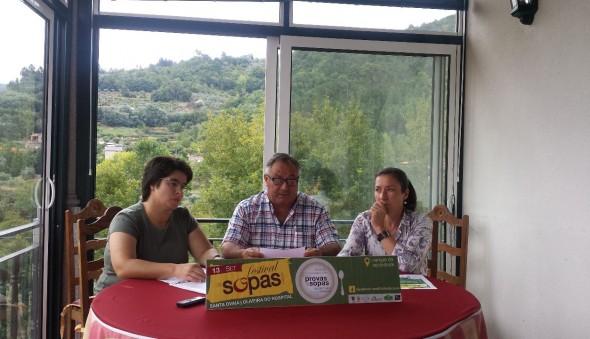 Folha do Centro - Santa Ovaia abre o apetite para mais um Festival das Sopas