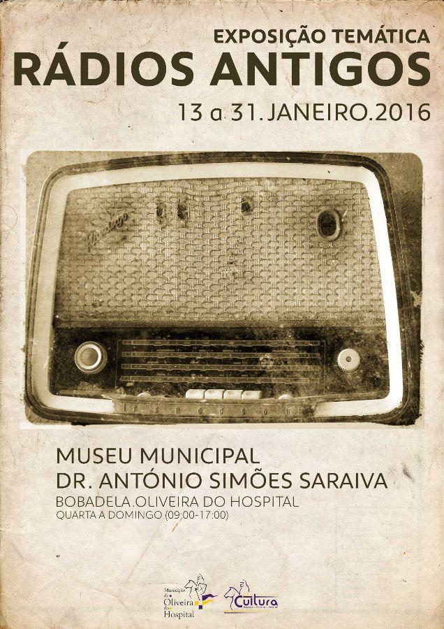 exposição temática radios antigos