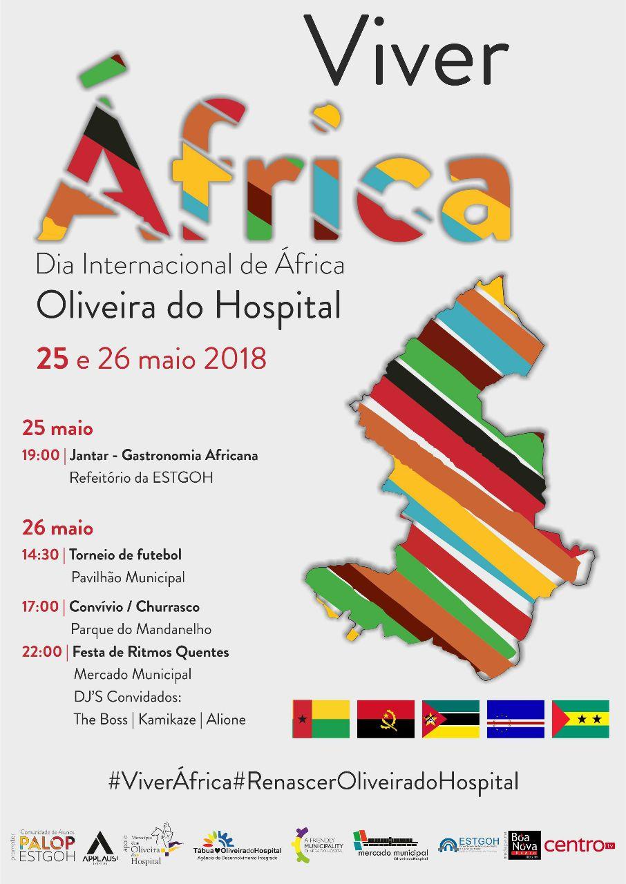 cartaz dia de áfrica 2018