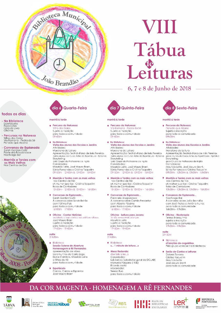 cartaz tabua de leituras 2018_programa