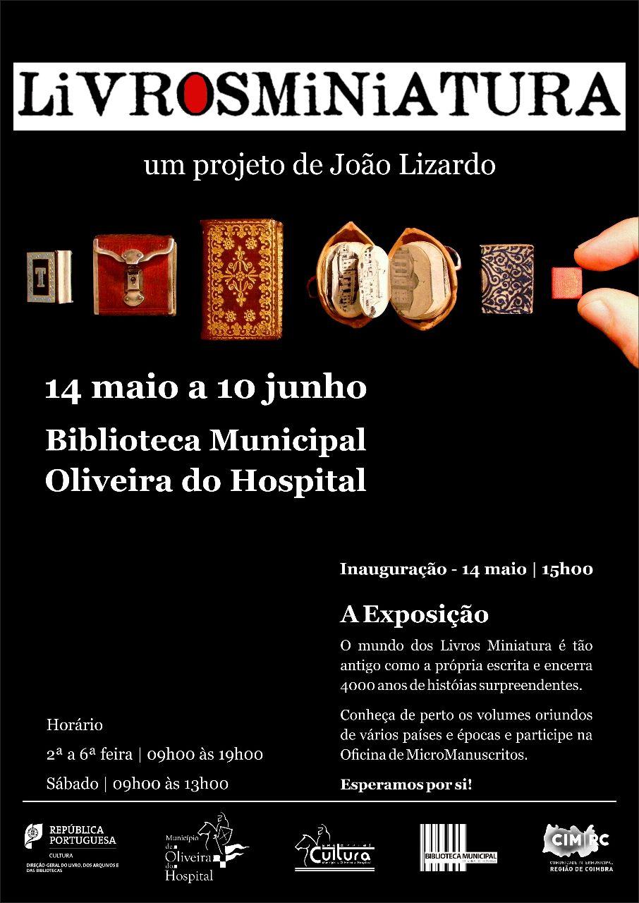 exposição livrosminiatura