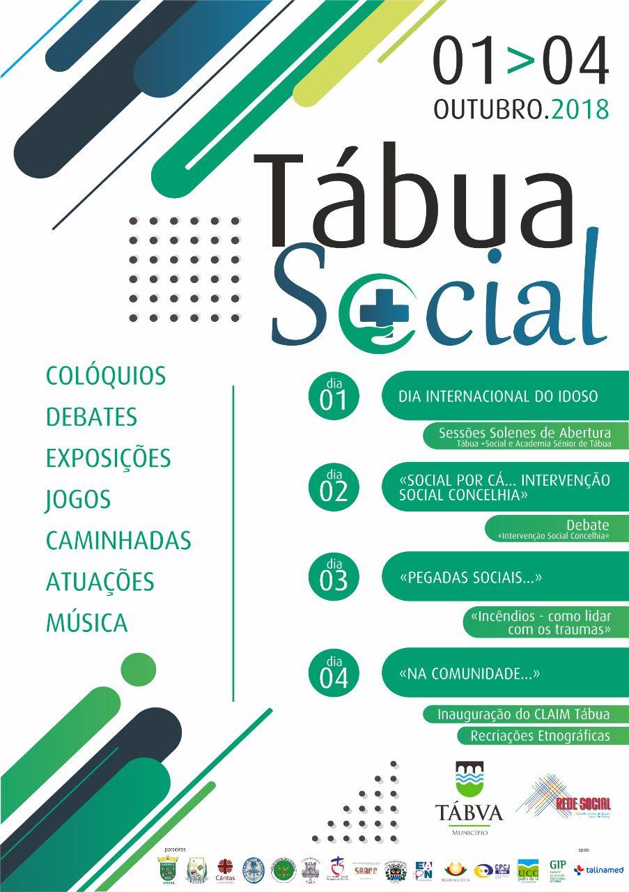 cartaz tabua mais social