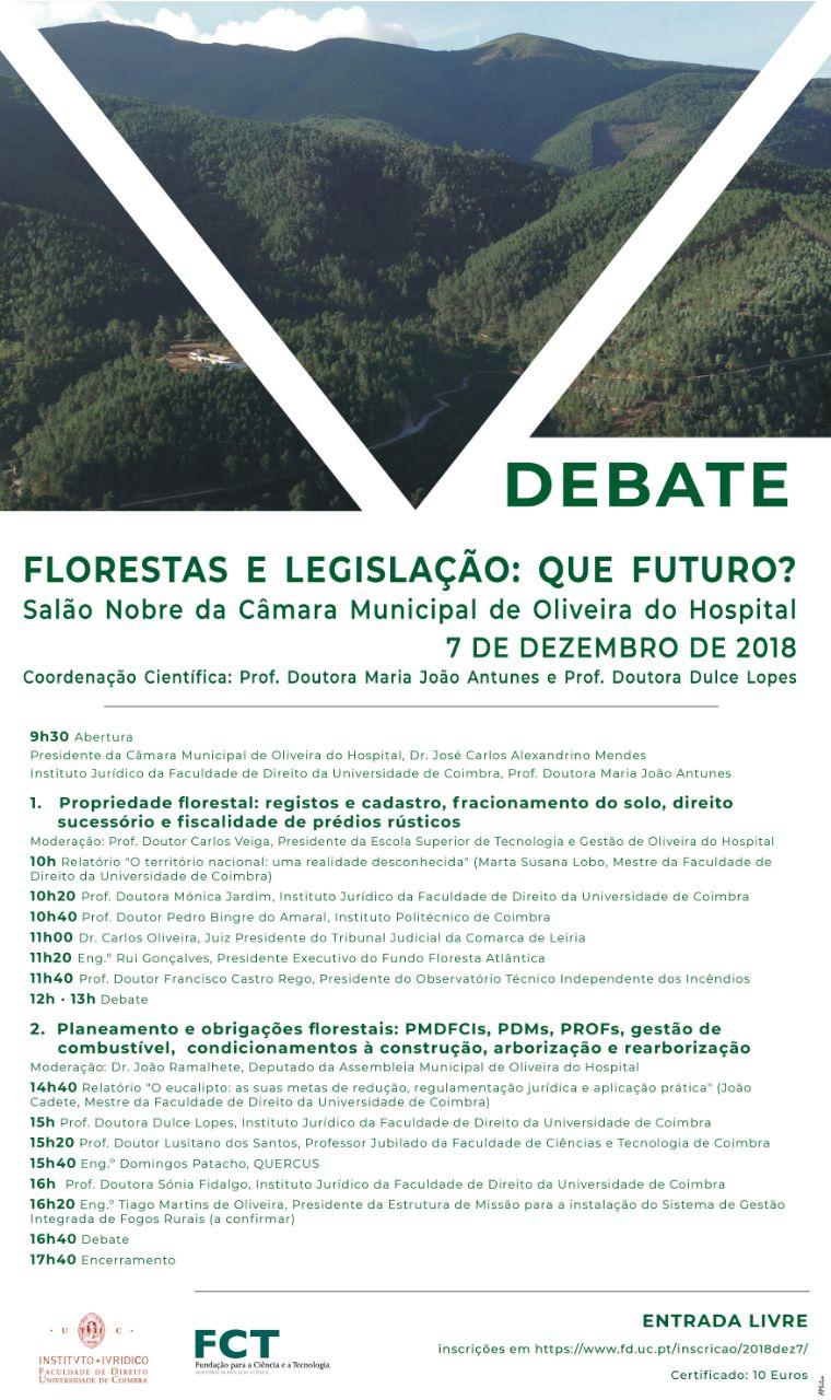 Programa do debate