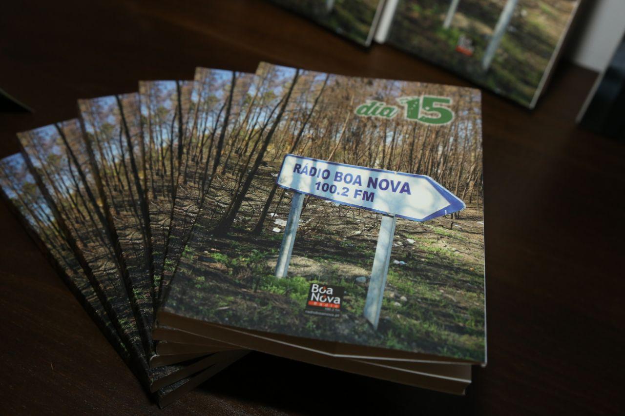 Rádio Boa Nova apresentou o livro e comemorou 33º aniversário1