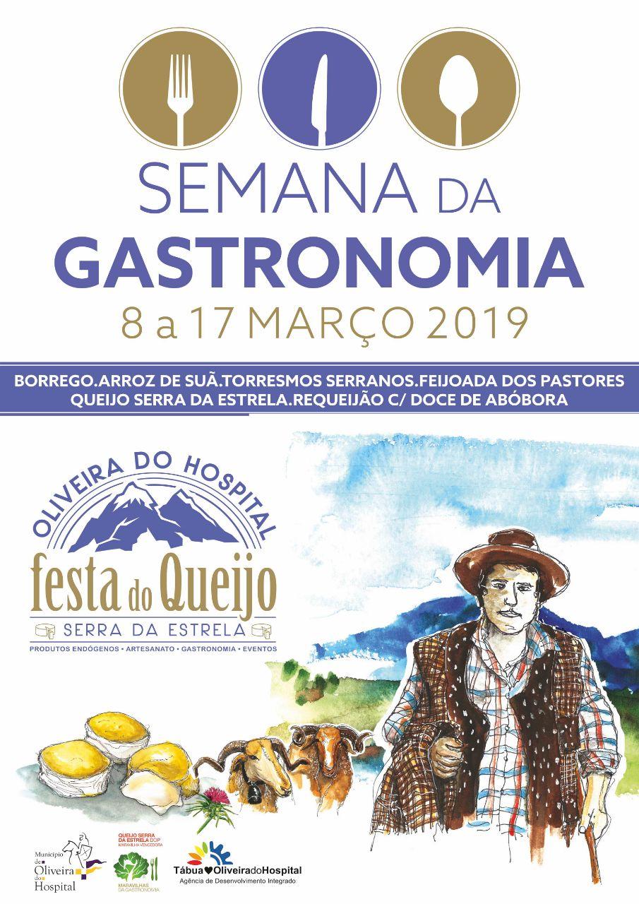 cartaz Semana da Gastronomia'19