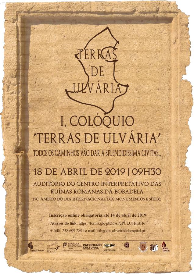 I COLÓQUIO TERRAS DE ULVÁRIA