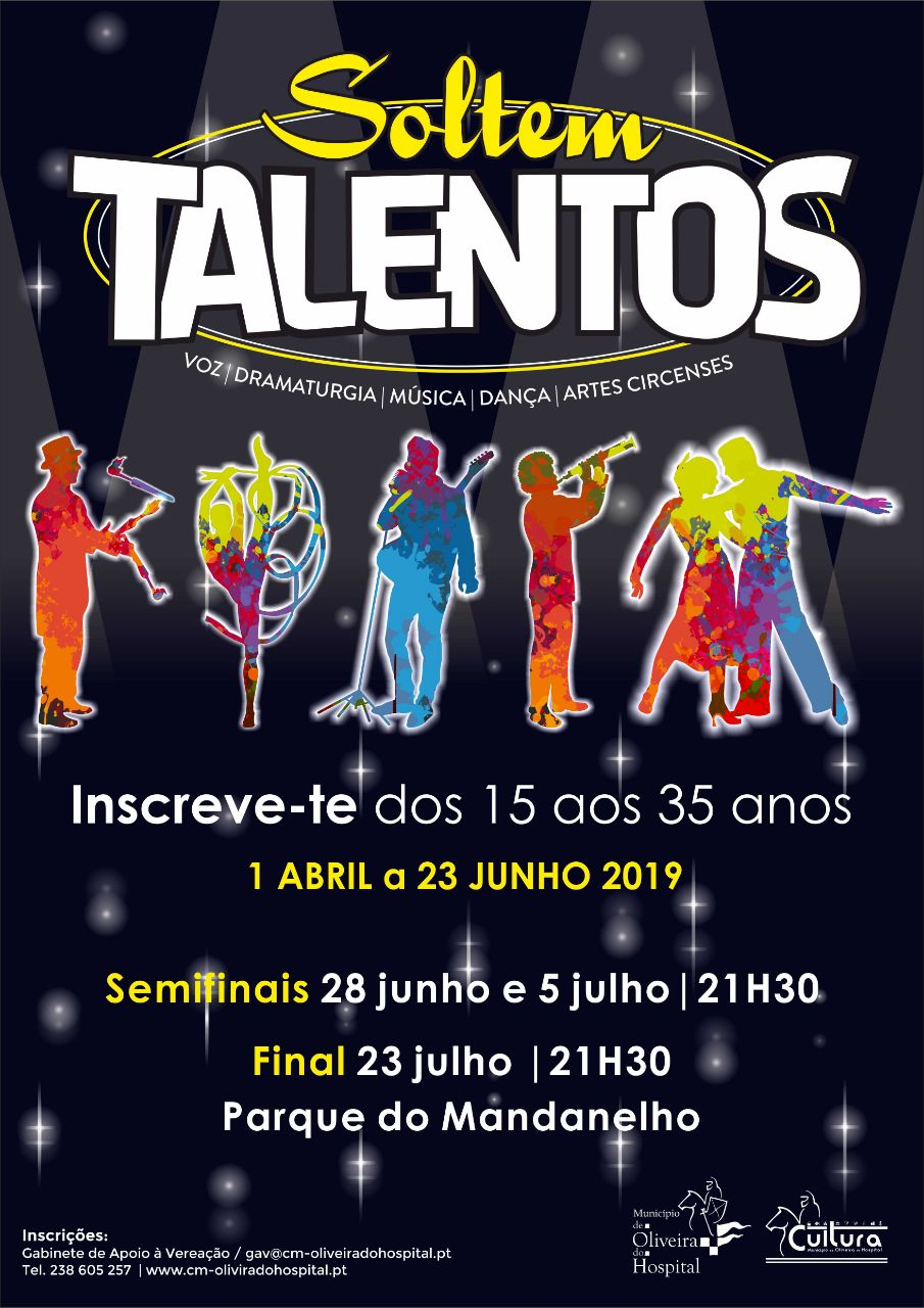 Cartaz Soltem Talentos 2019