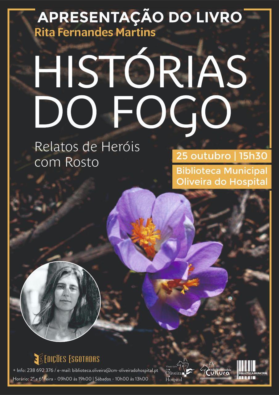 APRESENTAÇÃO DO LIVRO HISTÓRIAS DO FOGO