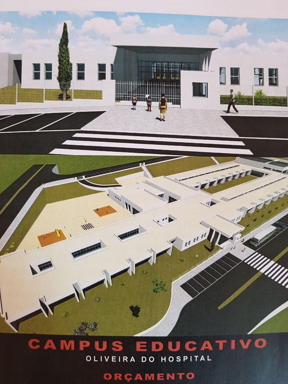 Centro Educativo maquete
