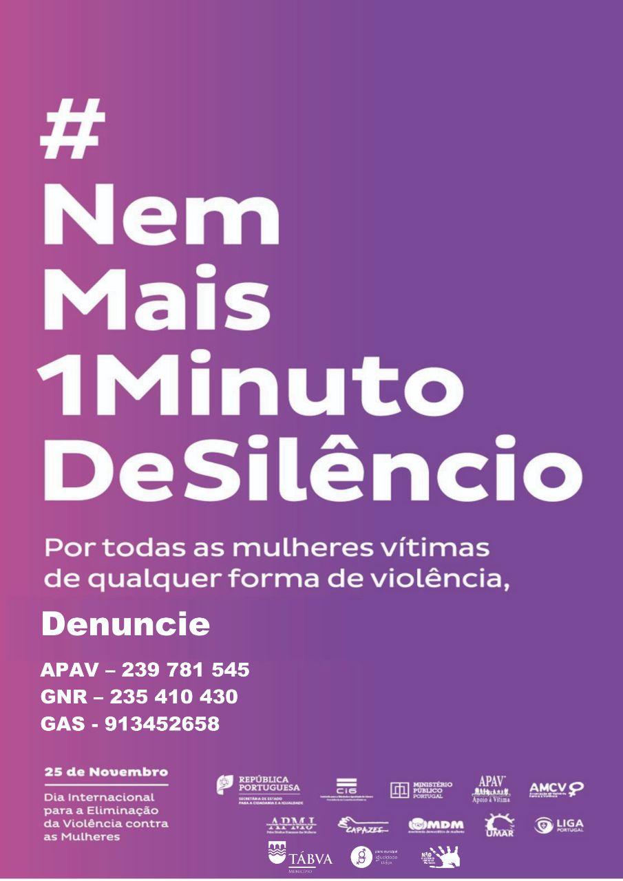 cartaz 25 novembro